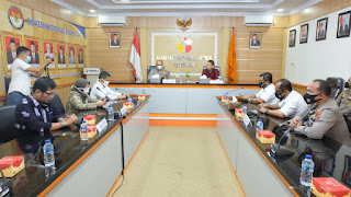 Kapolda Jambi Silahturahmi Ke Bawaslu Provinsi Jambi.