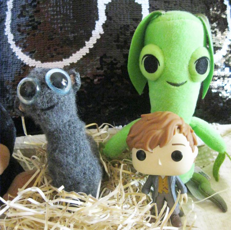 Fantastic Beasts Mooncalf Harry Potter Etsy