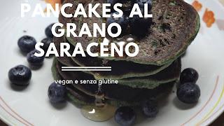 Buckweat pancakes gluten free vegan