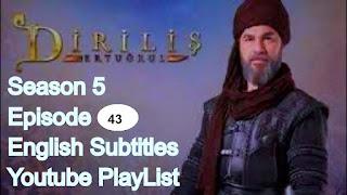 Dirilis Ertugrul Season 5 Episode 43