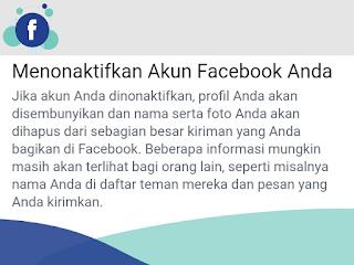Begini Cara Menonaktifkan Akun FB di Facebook Lite