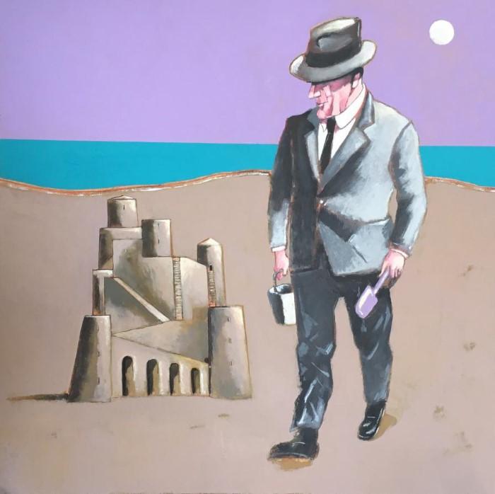 Итальянский художник. Sergio Leta