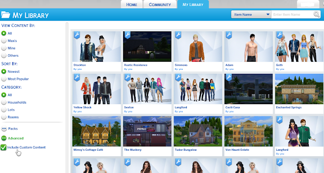 how to install or use custom content sims 4
