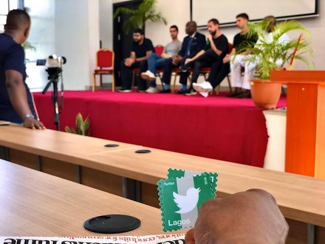 Twitter CEO, Jack Dorsey Visits UNILAG (Photos)