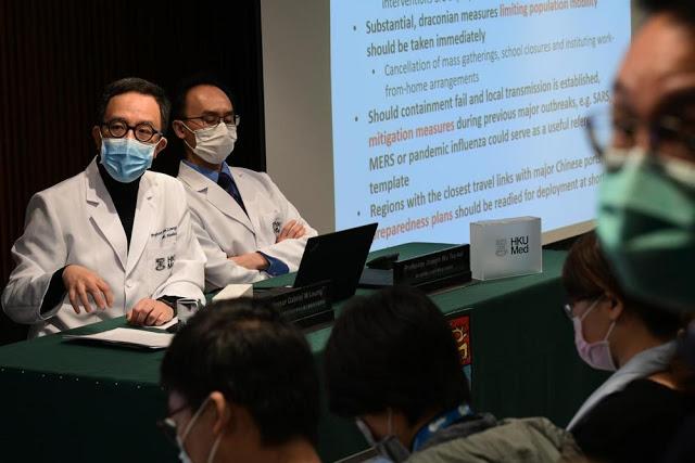 Ahli Medis di Hong Kong Peringatkan Wabah Virus Corona akan Mendunia: Kita Harus Bersiap
