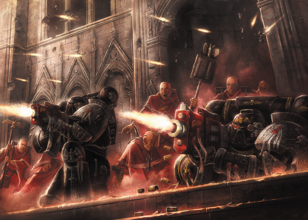 Deathwatch Overkill: Gameplay Leaks