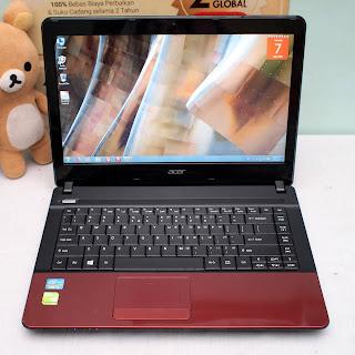 Jual Laptop Gaming Acer E1-471G Core i3 bekas