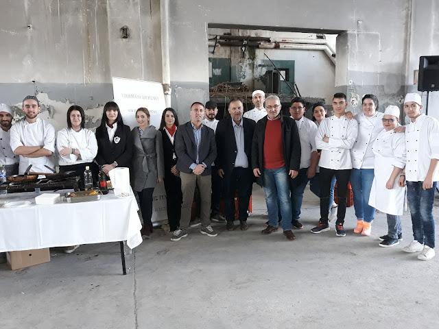 Εντυπωσίασαν οι γευστικές δημιουργίες της Σχολής Τουριστικής Εκπαίδευσης στην εκδήλωση για το πορτοκάλι