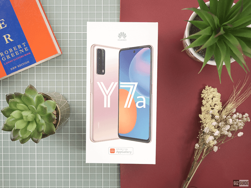 Top 5 highlights of Huawei Y7a