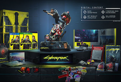 Cyberpunk 2077 video game collector's edition