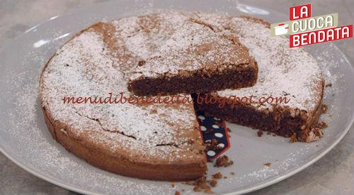 Torta caprese ricetta Benedetta Parodi