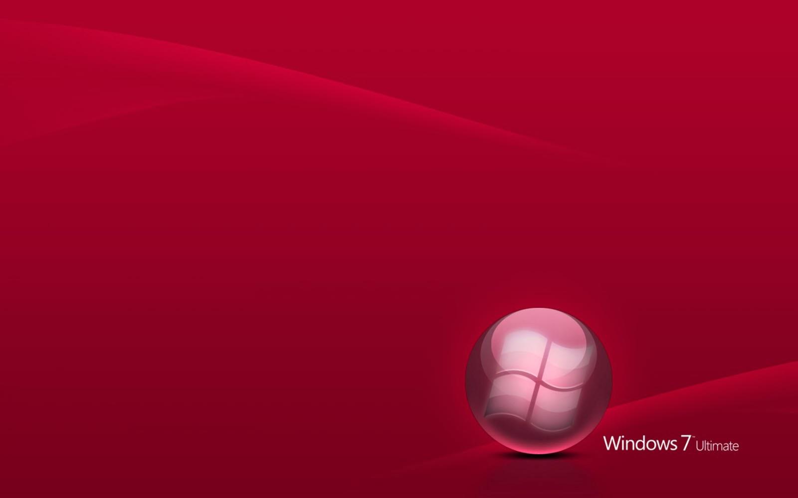 windows red wallpaper vista - photo #19