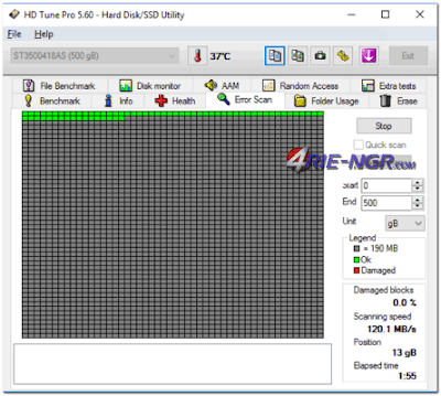 HD Tune Pro 5.70 Full Latest Version