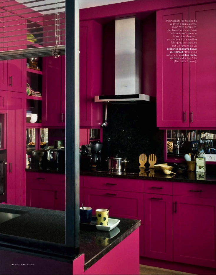 fuschia kitchen accessories lotus amp fig color story toned walls 1143