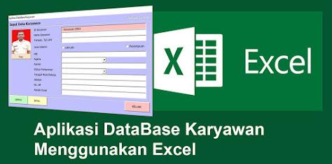Contoh Aplikasi Macro VBA Excel : Aplikasi DataBase Karyawan