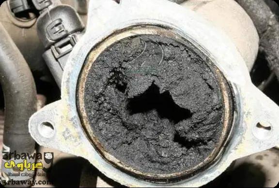 1- بخاخات البنزين تالفة