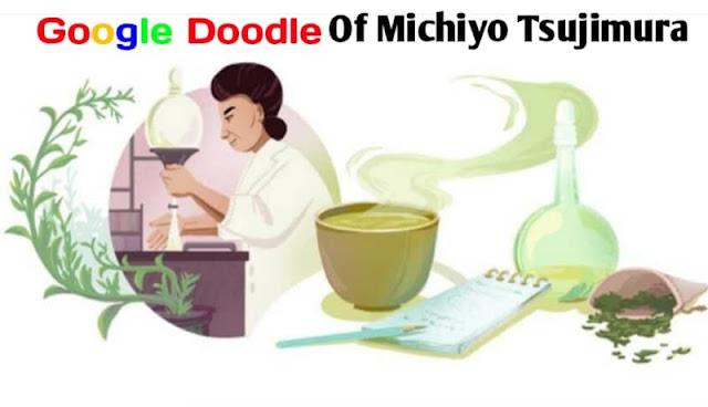 Google doodle of michiyo tsujimura, who is michiyo tsujimura