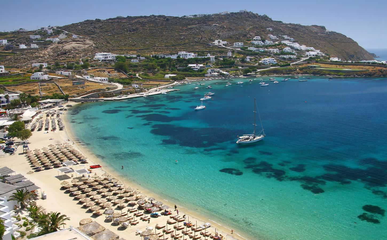 Greek Island Beaches: Mykonos, Greece