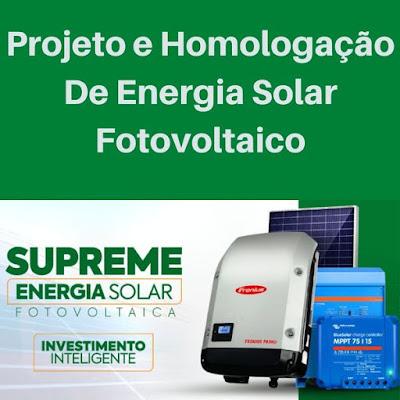 Curso Online de  Projeto e Homologação de Energia Solar Fotovoltaico