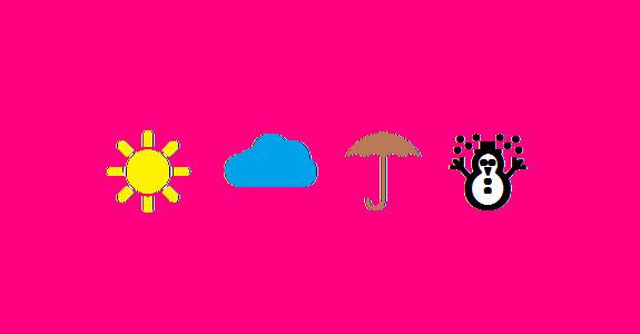 Hava durumu sembolleri klavyede nasıl yapılır?