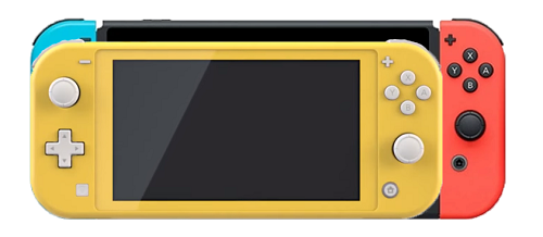 Nintendo Switch Lite has smaller size