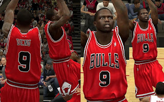 NBA 2K13 PC Mods Chicago Bulls Jersey