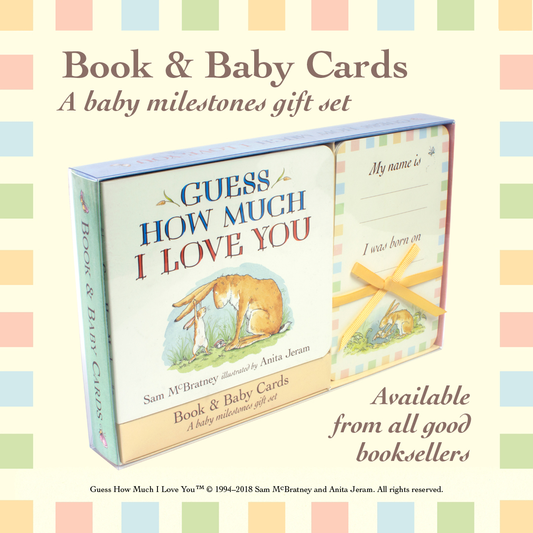 picture book party win guess how much i love you baby card gift set
