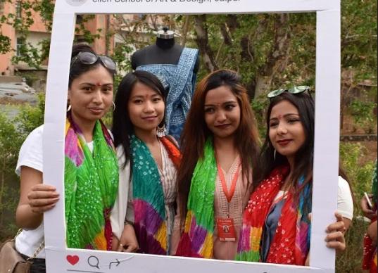 jaipur, rajasthan, art school, fashio show, ellen school of art and design jaipur, Ellen Jaipur, Jaipur news, rajasthan news