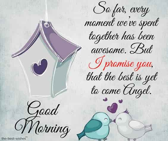 quotes on good morning angel