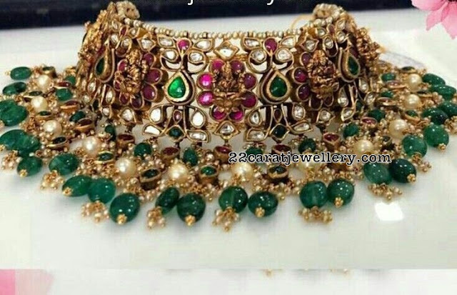 Heavy Chokers by Premraj Jewellers