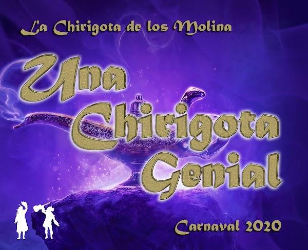 La chirigota de Los Molina de Chiclana serán UNA CHIRIGOTA GENIAL para el COAC 2020