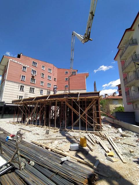 beton dökümü, hazır beton, c35