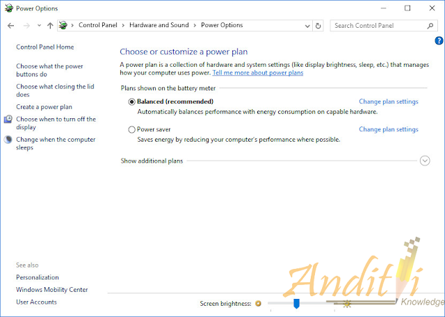 Cara Menambahkan Option Hibernate Pada Power Button Windows 10-anditii.web.id
