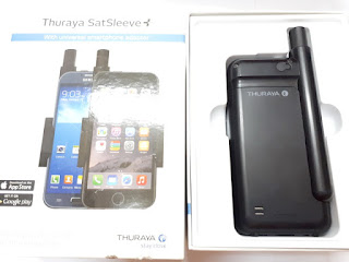 Satelit Thuraya SatSleeve+ SatSleeve Plus Seken Normal Fullset Plus Perdana