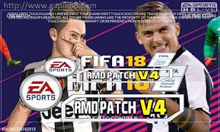 FTS Mod FIFA 18 v4 by RMD Apk + Data Obb