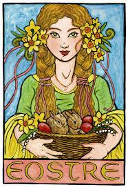 Deusa da Fertilidade, mãe da Páscoa pagã