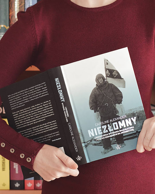 """#329 """"Niezłomny. Legendarna wyprawa Shackletona i statku Endurance na Antarktydę"""" - Caroline Alexander /przedpremierowo/"""