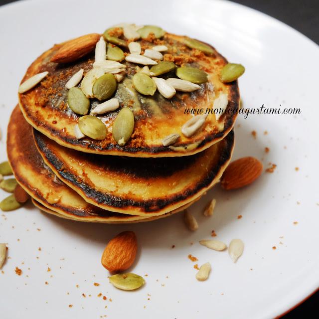 resep pancake banana oat