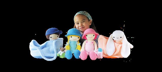 Muñecas con vestidos, Patrones de amigurumi en ganchillo - Los ...