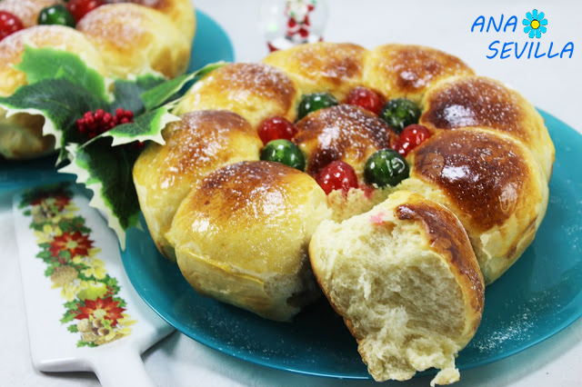 Pan dulce de nata olla GM Ana Sevilla