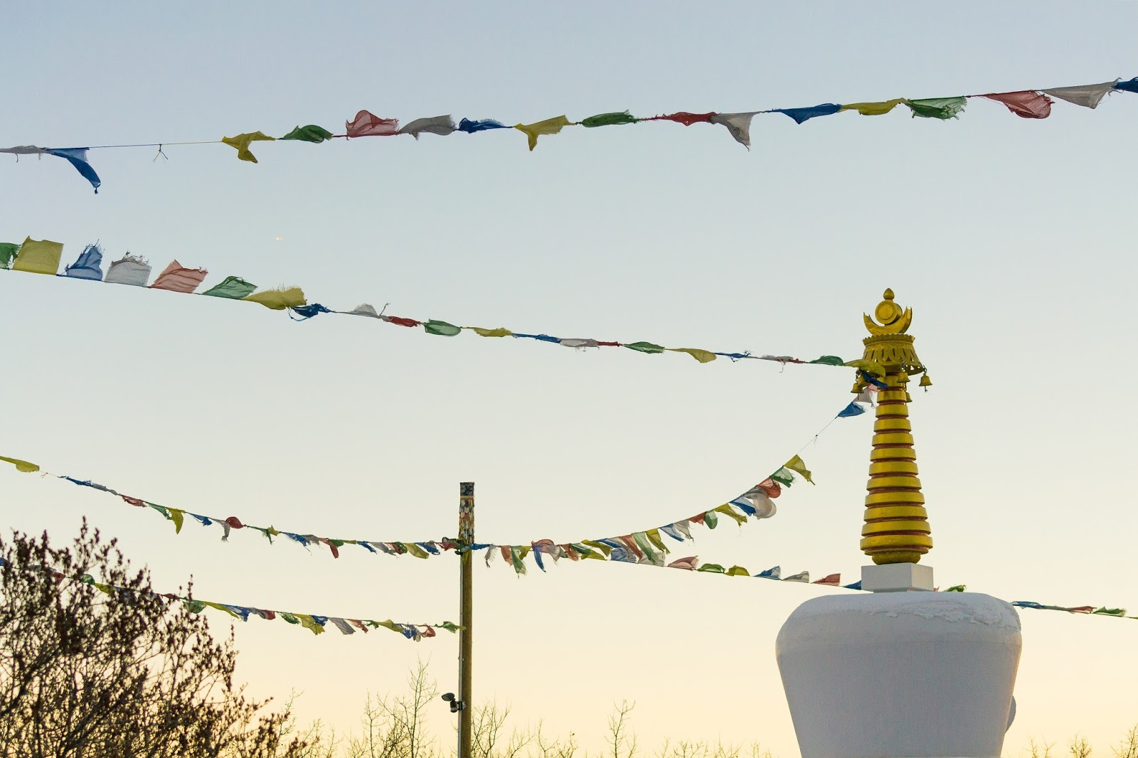 Buddhist Stupa in Paskapoo Slopes, Calgary