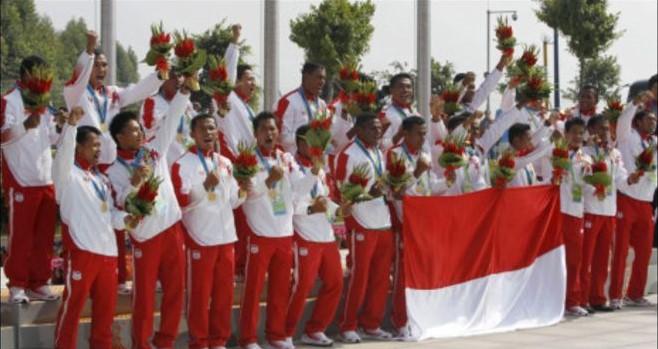 Perahu Naga Indonesia di Asian Games