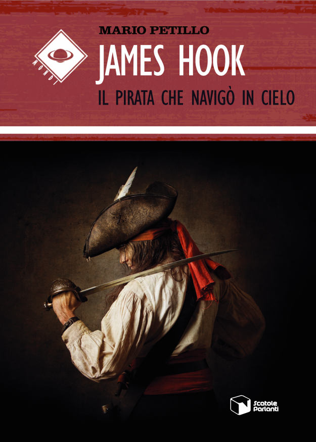 Mario Petillo presenta il nuovo libro 'James Hook, il pirata che navigò in cielo'