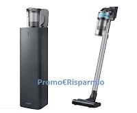 Logo Samsung ''La nuova coppia perfetta del pulito'': vinci gratis Clean Station e scopa elettrica
