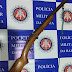 POLICIAL: APÓS AMEAÇAR INDIVÍDUO ABANDONA ARMA E FOGE PELO MATAGAL EM GAMELEIRA ZONA RURAL DE BONFIM