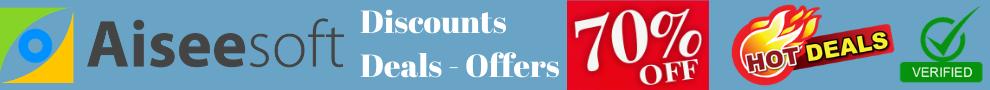 aiseesoft offer deals discount coupon