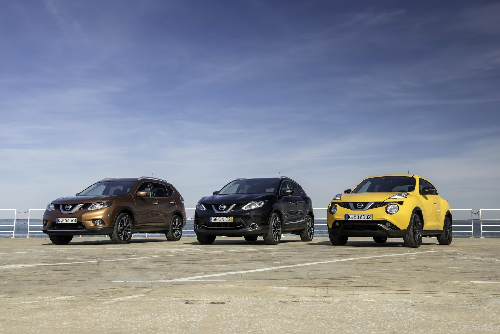 Νέες τιμές για τα μοντέλα της Nissan