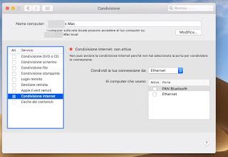 Condivisione Mac