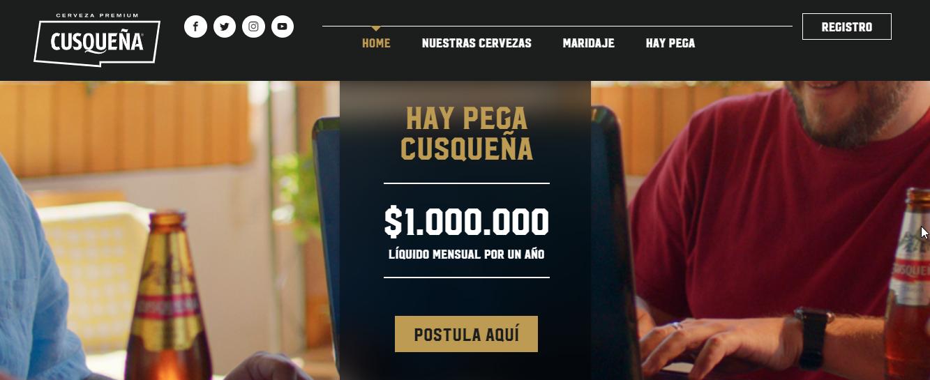 Promo Cerveza Cusquena 2021