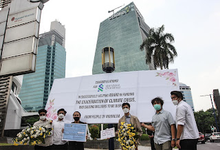 Pinjaman ADRO Rp5,79 Triliun Ditengarai Perburuk Krisis Iklim